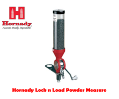 Hornady Lock n Load Powder Measure .5-265gr w/ 2 Drop Tubes