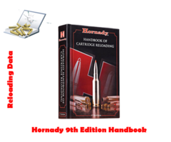 Hornady Reloading Data Manual 9th Edition Handbook