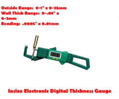 Insize Electronic Digital Thickness Gauge