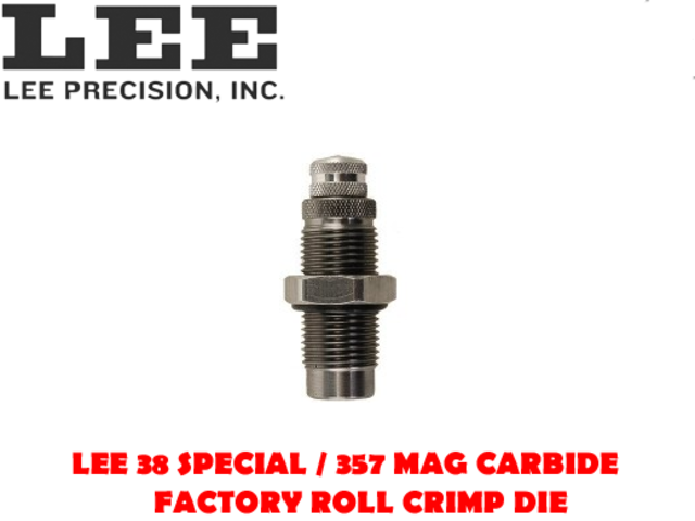 For Sale - Lee 38 Special / 357 Mag Carbide Factory Roll