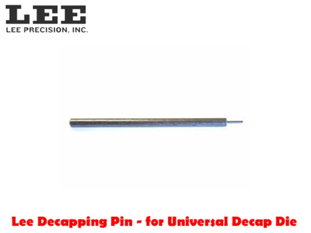 For Sale - Lee Decapping Pin for Universal Decap Die