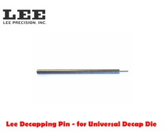 Lee Decapping Pin for Universal Decap Die