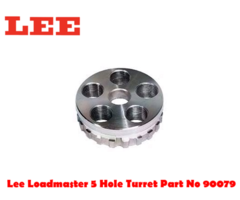 Lee Loadmaster 5 Hole Turret