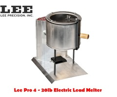 Lee Precision Pro 4 20lb Electric Lead Melter – 220v