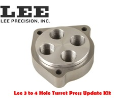 Lee Precision Turret Press Update Kit 3 Hole to 4 Hole