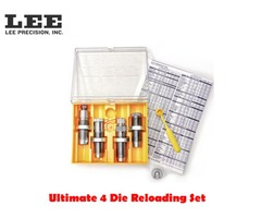Lee Ultimate 4 Die Rifle Reloading Die Set