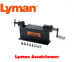 Lyman AccuTrimmer Kit Case Trimming Kit