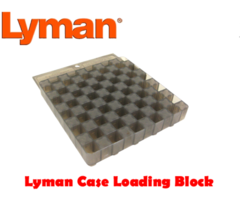 Lyman Case Loading Block