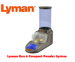Lyman Gen 6 Touch Screen Compact Powder Measure Dispenser System