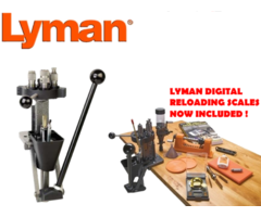 Lyman Press Kit – T Mag Deluxe Expert Kit