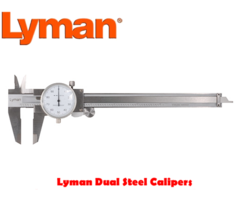 Lyman Stainless Steel Dual Caliper