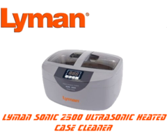 Lyman Turbo Sonic 2500 Ultrasonic Heated Case Cleaner