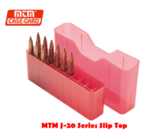 MTM Case Gard J-20 Slip top Ammo Box Series