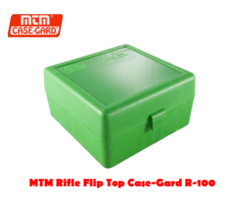 MTM Rifle Flip Top Case-Gard R-100 RD Ammo Box