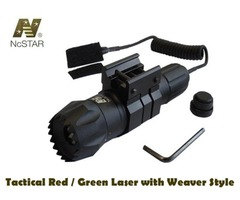 NcStar Dual Tactical Red / Green Laser with Weaver Style Mount – APRLSRG