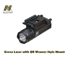 NcStar Green Laser with QR Weaver Style Mount – AQPTLMG