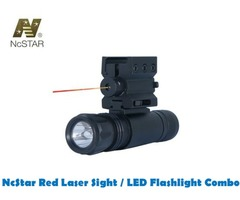 NcStar Red Laser Sight / LED Flashlight Combo with Weaver Scope Mount (APFLS)