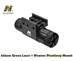 NcStar Tactical 532nm Green Laser with Weaver / Picatinny Mount – APRLSMG