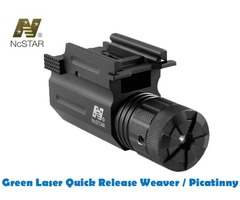 NcStar Tactical Green Laser with Quick Release Weaver / Picatinny Mount AQPTLG