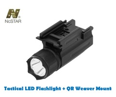 NcStar Tactical Rifle / Pistol LED Illuminator Flashlight with QR Weaver Mount – AQPTF
