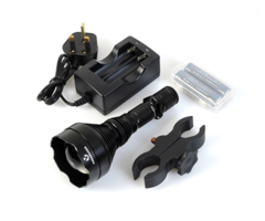 Nightmaster XSearcher Torch & Hunting Long Range IR Gun Light Kit