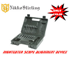 Nikko Stirling Nighteater Scope Alignment Device – Boresighter
