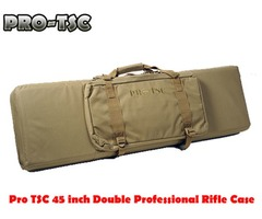 Pro TSC 45 inch Double Professional Rifle Case with Egg Crate Foam – 1807A