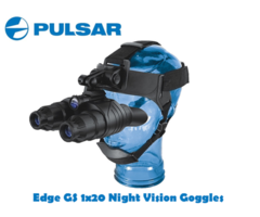 Pulsar Edge GS 1×20 Night Vision Goggles
