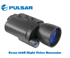 Pulsar Recon 550R Digital Night Vision Monocular with Recorder