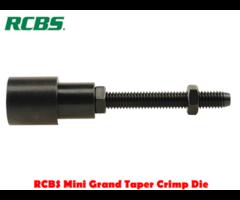 RCBS Mini Grand Taper Crimp Reloading Die