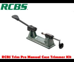 RCBS Reloading Trim Pro 2 Manual Case Trimmer Kit