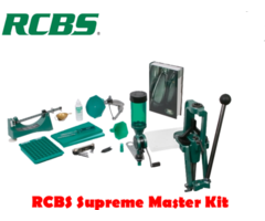 RCBS Rock Chucker Supreme Master Reloader Reloading Press Kit