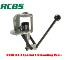 RCBS RS-5 Special 5 Single Stage Reloading Press