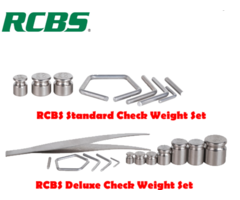 RCBS Scale Check Weights