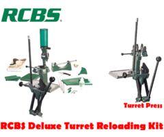 RCBS Turret Deluxe Reloading Press Kit