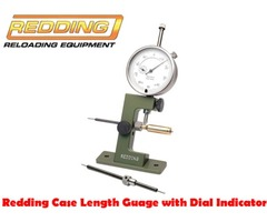 Redding Case Length Guage with Dial Indicator