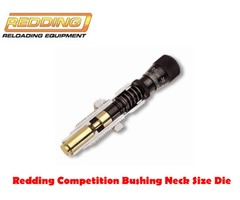 Redding Competition Bushing Neck Size Die Only