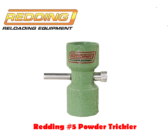 Redding Reloading #5 Powder Trickler