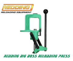 Redding Reloading Big Boss 2 Rifle Reloading Press