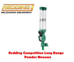Redding Reloading Competition Reloading LR 1000 Long Range Powder Measure / Powder Thrower