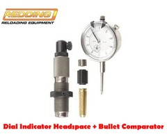 Redding Reloading Instant Dial Indicator Headspace and Bullet Comparator