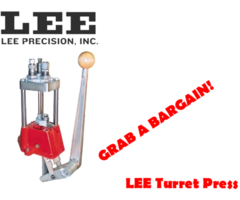Reloading Press – Lee Turret 4 Hole Reloading Press