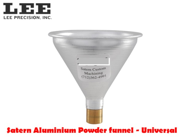 Satern Aluminum Funnel 30-50 Caliber