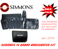 Simmons 14 Arbor Boresigter Kit ONLY £39.95