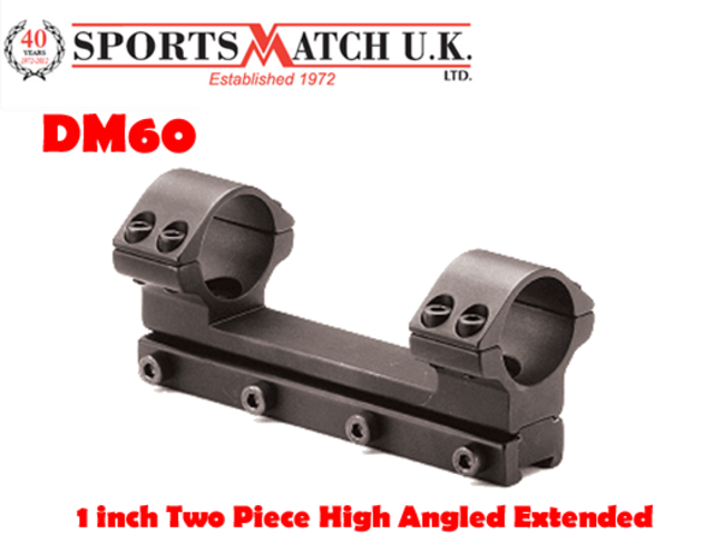"SPORTSMATCH ATP66 30mm Height Windage Adjustable Rifle Scope Mounts 11mm 3//8/"""