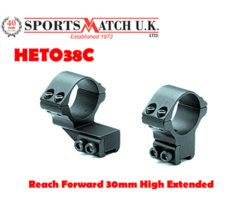 Sportsmatch HETO38C Reach Forward 30mm High Extended Scope Rings