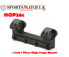 Sportsmatch HOP26c 1 inch 1 Piece High Scope Mount
