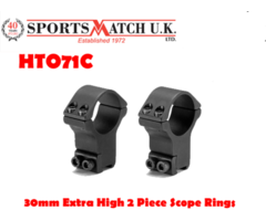 Sportsmatch HT071 30mm Extra High 2 Piece Scope Rings