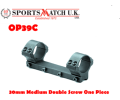 Sportsmatch OP39C 30mm Medium Double Screw One Piece Rifle Scope Mount