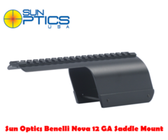 Sun Optics Benelli Nova 12 GA Shotgun Saddle Scope Mount